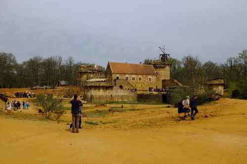 ANIMATIONS LOISIRS 2015, GUEDELON 16 avril
