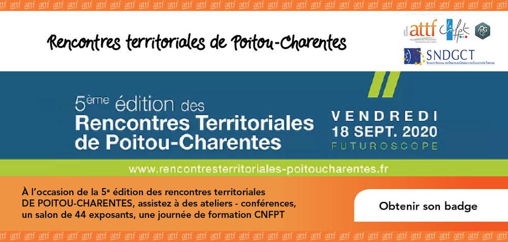 RENCONTRES TERRITORIALES DE POITOU-CHARENTES 2022