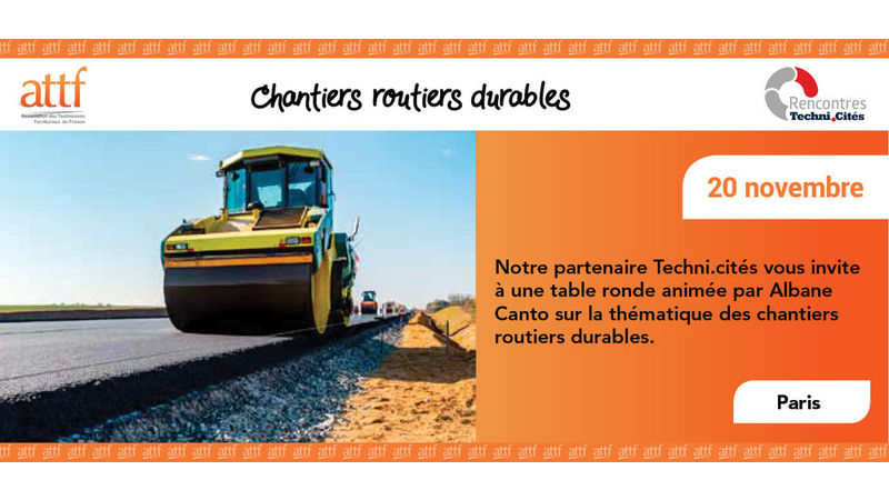 Table ronde chantiers routiers durables