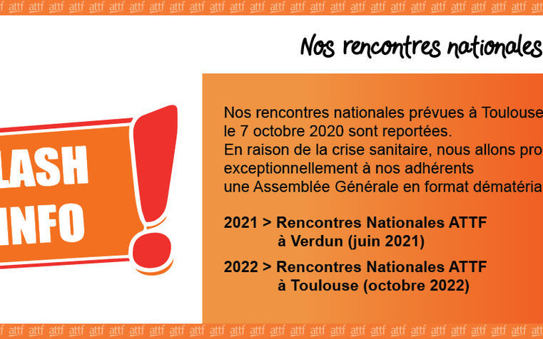 RENCONTRES NATIONALES ATTF