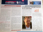 Les honneurs de la presse pour l'ATTF au dernier SMCL à Paris