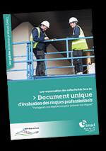 Un guide sur le document unique d'évaluation des risques professionnels.
