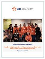 Webconférence EDF Collectivités