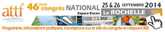 46ème congrès national de l'ATTF