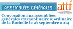 AG extraordinaire de l'ATTF le 26 septembre à La Rochelle