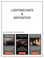 Lighting days et BePositive
