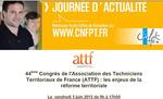 5 et 6 juin : 44ème Congrès régional del'ATTF Languedoc Roussillon à Carcassonne.