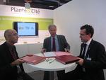 Partenariat entre Plante & Cité, le CNVVF et HORTIS pour la création d'un baromètre des espaces verts
