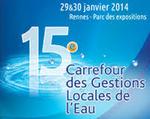 L'ATTF au 15e Carrefour des gestions locales de l'eau à Rennes en Janvier